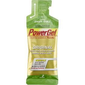 PowerBar Powergel Original Alimentazione sportiva Mela verde con caffeina 24 x 41g